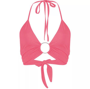 'Always Ready' halter top - 5 colours