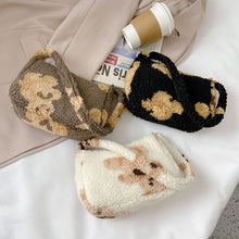 Load image into Gallery viewer, Teddy Bear Baguette Bag - 3 Colours