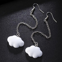Load image into Gallery viewer, Cloud chain earrings