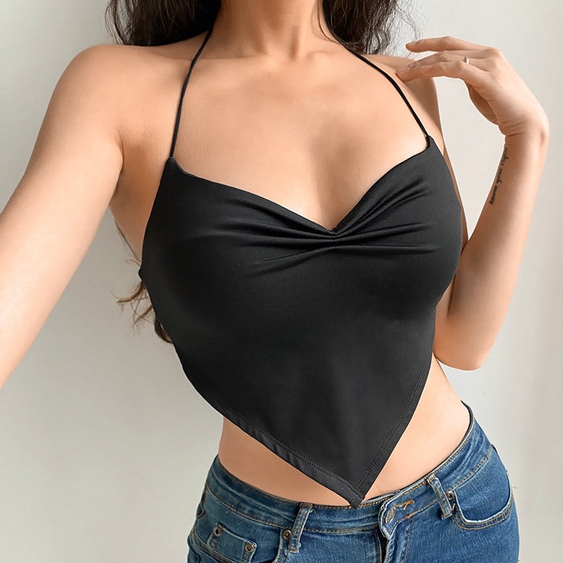 'Zoe' Basic Halter Top