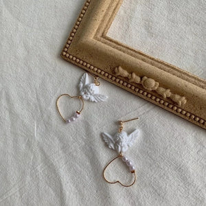 Cupid's Heart earrings