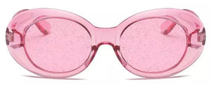 Glitter lens glasses - 7 colours