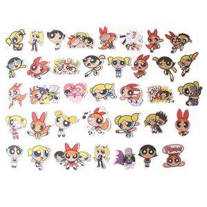 Powerpuff Girls stickers - 36 & 50 pieces