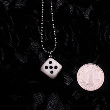 Load image into Gallery viewer, Dice necklace