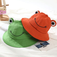 Load image into Gallery viewer, Frog Bucket Hat - 6 Colours