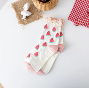 Cutie Fruity Socks - 5 Styles