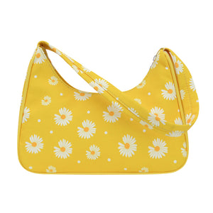 Daisy print handbag - 3 colours