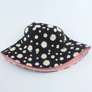'Daisy' reversible bucket hat - 5 colours