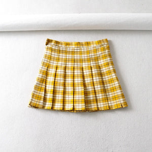 'Isabella' plaid skirt - 3 colours