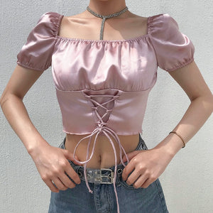 'Tilly' off shoulder crop top