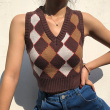 Load image into Gallery viewer, 'Rachel' Knitted Crop Vest