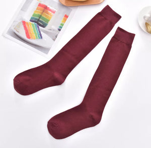 Under The Knee Socks - 5 Colours