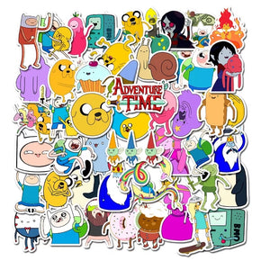 Adventure Time stickers - 50 pieces