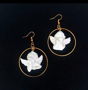 Cupid hoop earrings - 2 styles