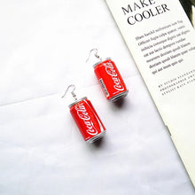 Load image into Gallery viewer, Soda can earrings - 4 styles