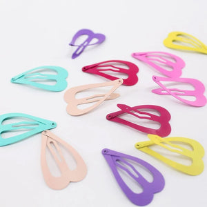 12 pack of heart shape clips