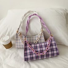 Load image into Gallery viewer, Plaid print handbag - 4 colours