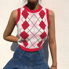 Load image into Gallery viewer, 'Piper' Knitted Crop Vest