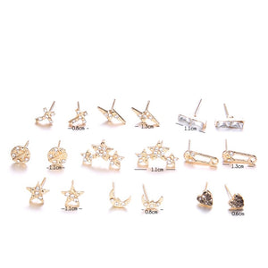 18 pack of earrings