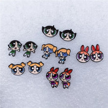 Load image into Gallery viewer, Powerpuff girls earrings - 6 styles