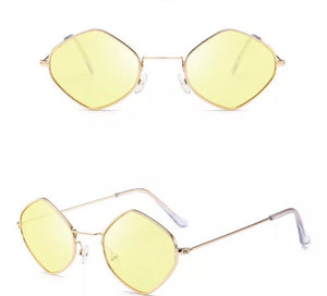 Round metal frame sunglasses - 7 colours