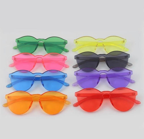 Frameless sunglasses - 12 colours