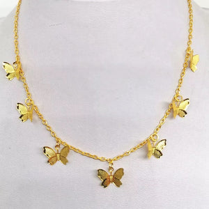 Butterfly choker - 2 colours