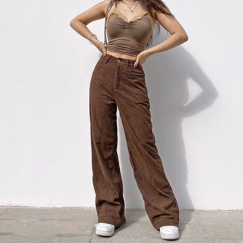 'Lola' Corduroy Pants - 4 Colours