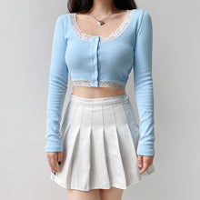Load image into Gallery viewer, 'Grace' Long Sleeve Crop Top