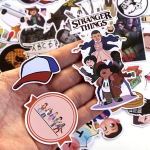 Stranger things stickers - 66 pieces