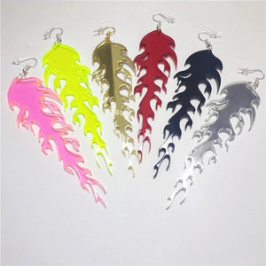 Wild Fire earrings - 6 colours