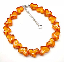 Load image into Gallery viewer, Heart choker - 8 colours