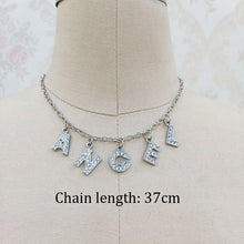 Load image into Gallery viewer, Rhinestone word choker - 4 styles
