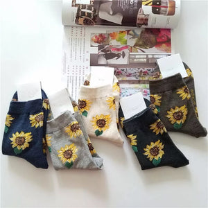 Sunflower socks - 5 colours