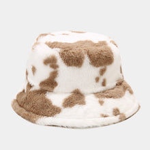 Load image into Gallery viewer, Fluffy Cow Bucket Hat - 4 Colours