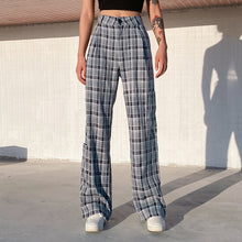 Load image into Gallery viewer, 'Karla' Plaid Trousers