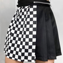 Load image into Gallery viewer, 'No Games' pleated skirt