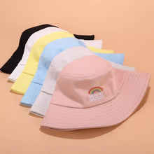 Load image into Gallery viewer, 'Radiate positivity' bucket hat - 5 colours