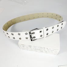 Load image into Gallery viewer, Star Eyelet Belt - 2 Colours