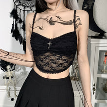 Load image into Gallery viewer, 'Alora' Lace Crop Top