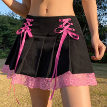 Load image into Gallery viewer, 'Lisa' Lace Up Skirt - 2 Colours