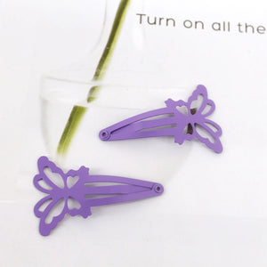 12 pack of butterfly shape clips