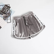 Load image into Gallery viewer, 'Somebody else' satin feel shorts