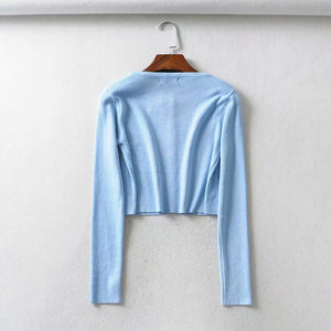 'Abby' cropped cardigan - 10 colours