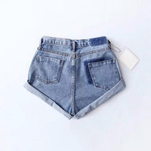 Load image into Gallery viewer, 'Crush on you' denim shorts - 5 colours