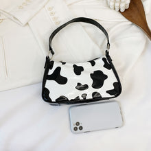 Load image into Gallery viewer, Cow Print Shoulder Bag