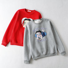 Load image into Gallery viewer, Betty Boop Sweatshirt - 2 Styles