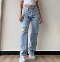 Load image into Gallery viewer, 'Martha' Denim High Waist Jeans - 2 Colours