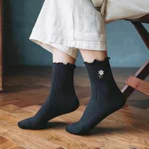 Daisy socks - 8 colours