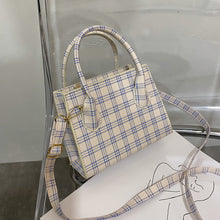 Load image into Gallery viewer, Plaid Cross Body Bag - 4 Colours